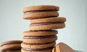 caramelchocolat cookiesキャラメルチョコサンドクッキー