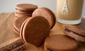 caramelchocorat cookiesキャラメルチョコサンドクッキー