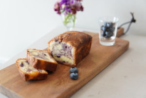 cakeauxmirtillesブルーベリーパウンドケーキ
