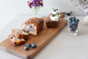 cakeauxfromageブルーベリーパウンドケーキ