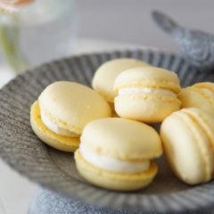 マカロン2種類のクリーム(焼き菓子コース、オンライン)